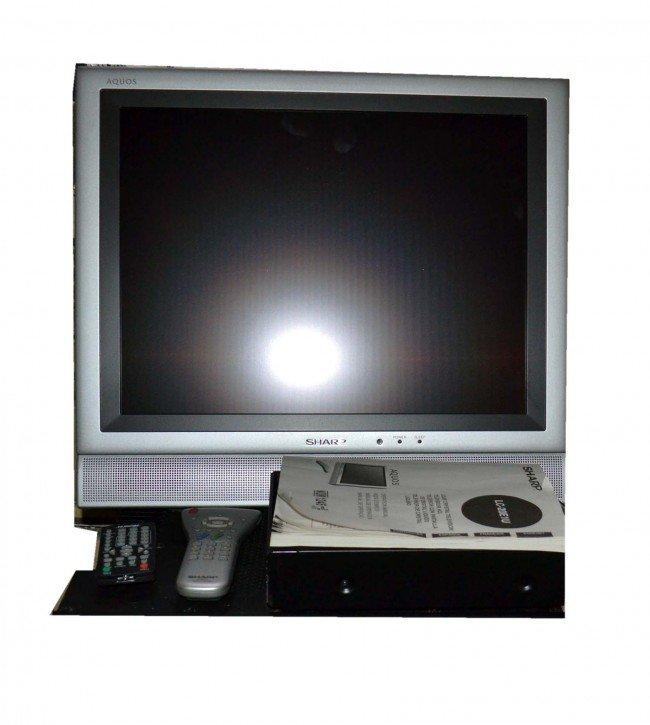 59: Sharp Flat Screen TV
