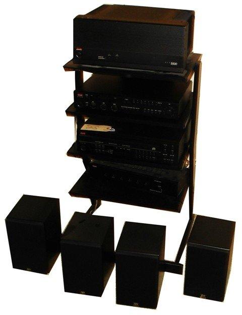 68: Lot Stereo Equipment