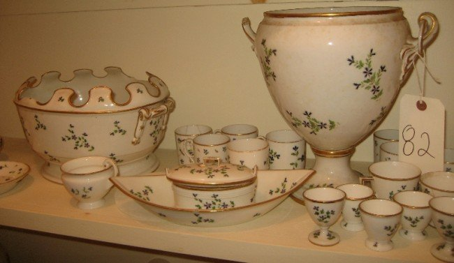 82: Approx 30 Pieces Continental Assorted Porcelain