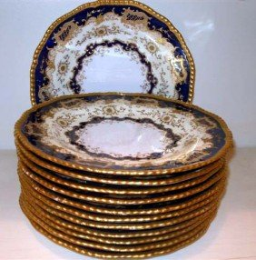 The Coalport, England Dinner Plates