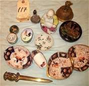 117 Asst Group Inc Bronze Bell Russian Box Etc