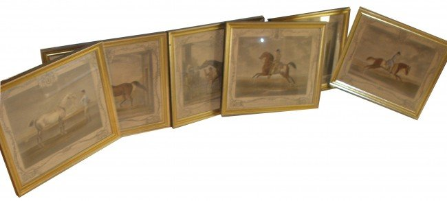 146: T. Spencer & R. Houston Equestrian Prints