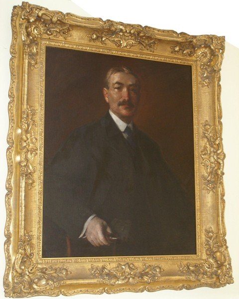 "154: Oil on Canvas, ""Mr. James Francis Sullivan"" Portra"