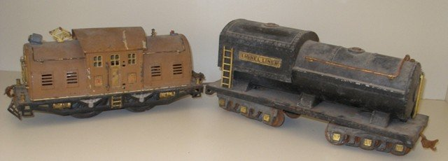 158: Lionel Trains, A Locomotive Together w/ Another Ca