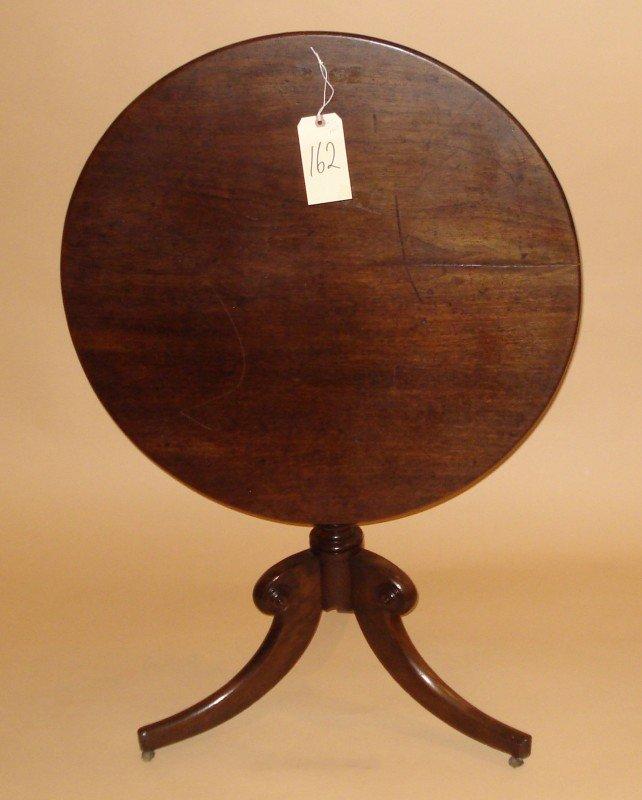 162: English Tilt Top Table
