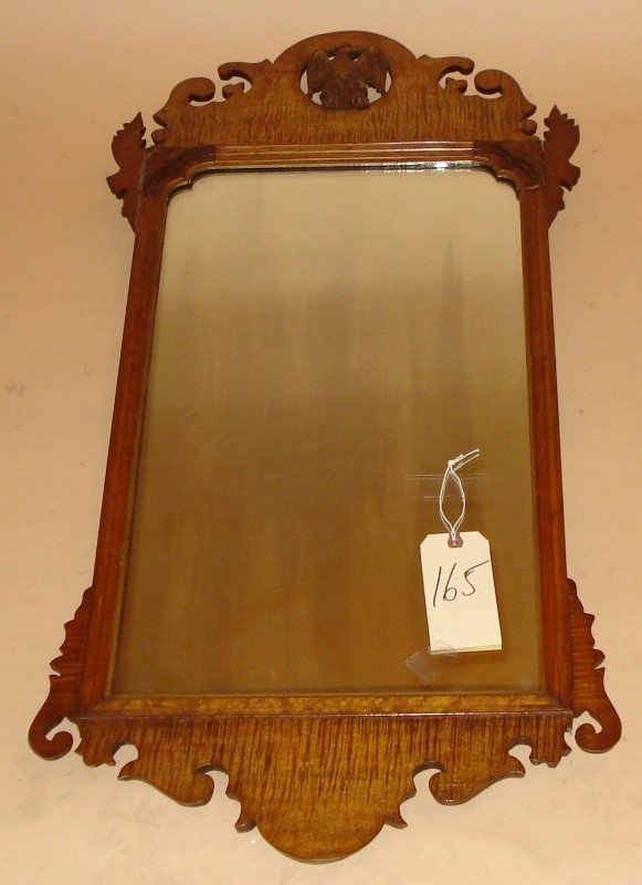 165: Chippendale Style Eagle Mirror