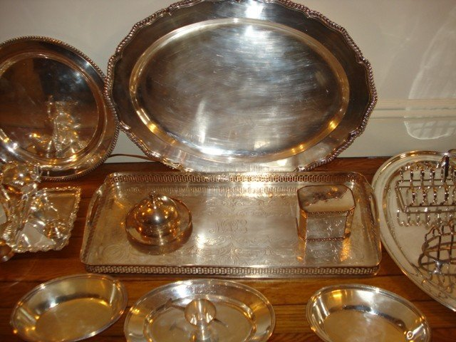176C: Silverplated Group - 2