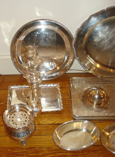 176C: Silverplated Group - 3