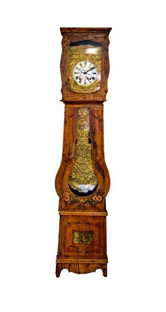 1: French Tall Case Clock Moulliere