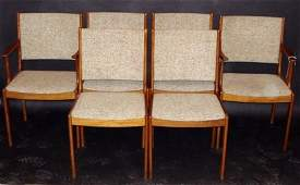 4: Set of Six Modern Dining Room Chair