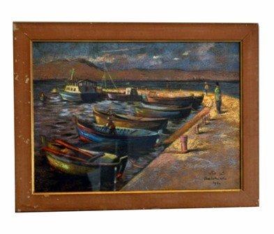 9: Zvi, Adler 1909-1965, Israel Pastel, 1960