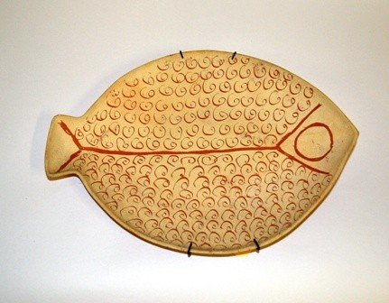 16: Canvenga, Canion, Los Angeles, Modern Fish Plate