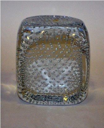 21: Murano Glass Cube