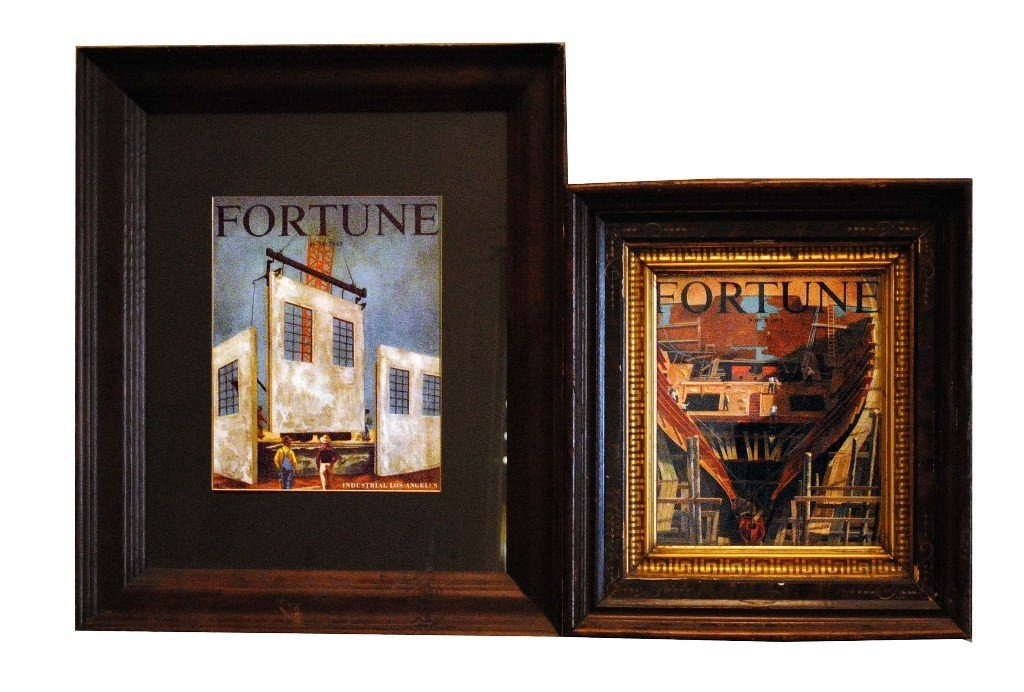 5: Framed Fortune Magazine Covers