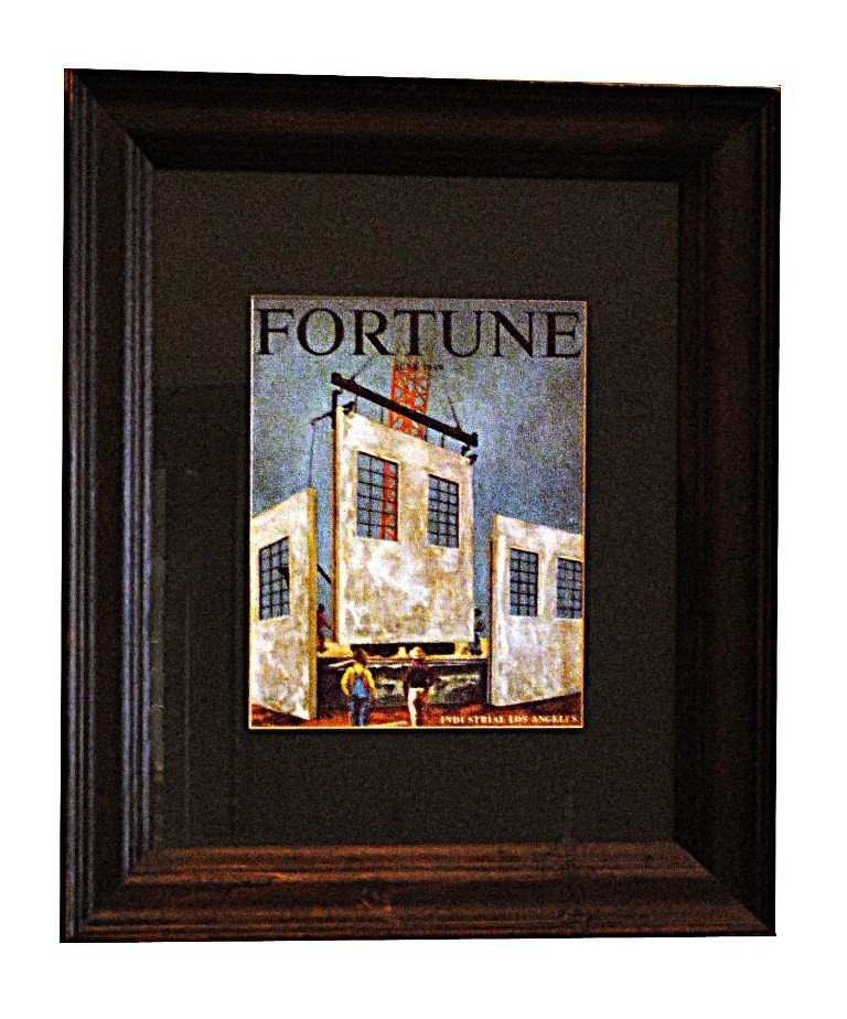 5: Framed Fortune Magazine Covers - 2