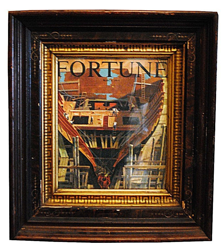 5: Framed Fortune Magazine Covers - 5