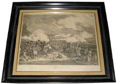 425 Early French Framed Lithograph