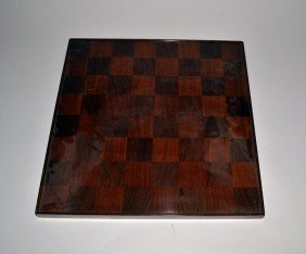 Inlaid Checkerboard Table