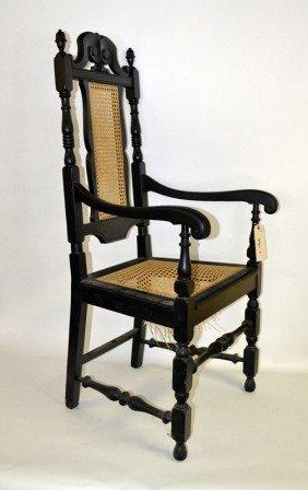 Jacobean Style Arm Chair