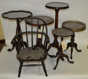 Group of Furniture, 9 Pieces