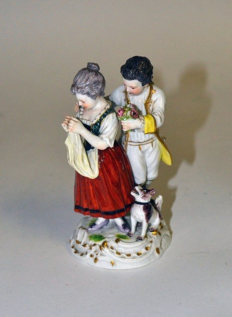 Meissen Porcelain Group