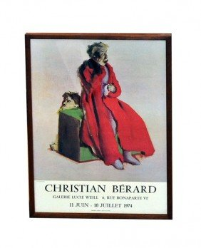 Christian Berard Exhibition Poster
