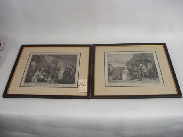 Pair of William Hogarth Prints