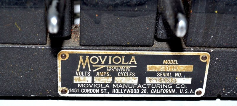 461: Moviola Editing Machine - 4
