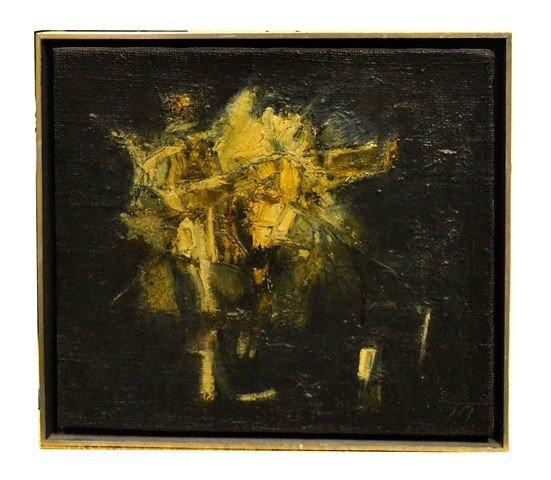 208: John Bagaris Oil on Canvas