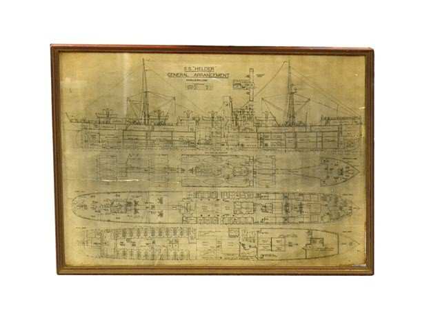 21: Framed Ship Plans