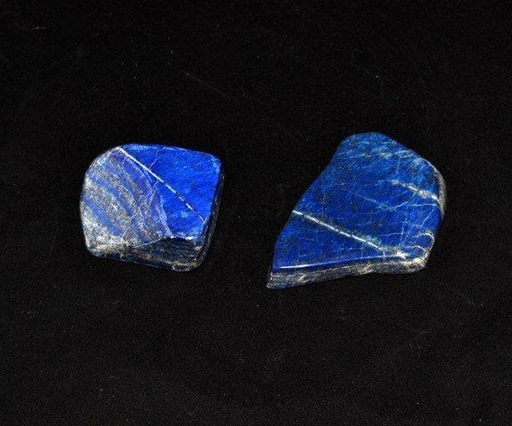 24: Two Lapis Stones