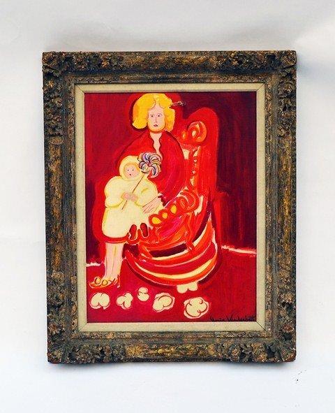 "101: Gloria Vanderbilt, ""The Red Room"""