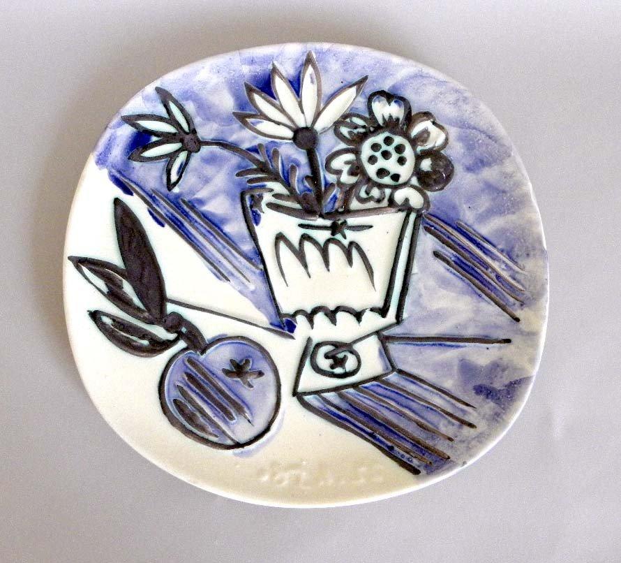 258: Pablo Picasso Plate
