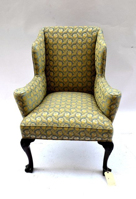 10: Lady's Georgian Style Upholstered Arm Chair