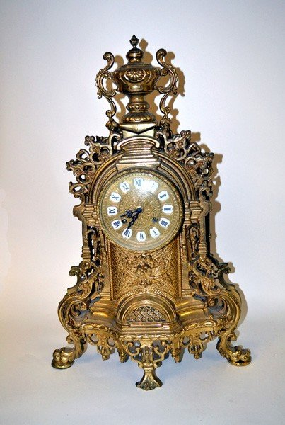 1: French Mantle Clock