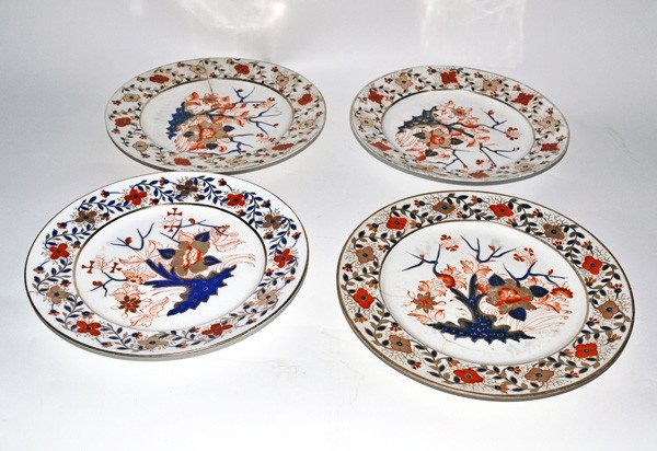 10: Four Royal Crown Derby Plates
