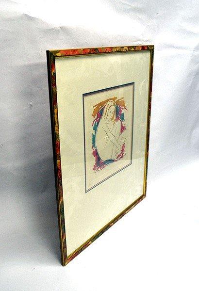 50: Lithograph, Female Nude  - 3