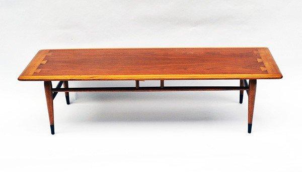 230: Modern Lane Oak and Walnut Cocktail Table