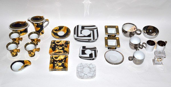 237: Rosenthal for Versace, 32 pieces