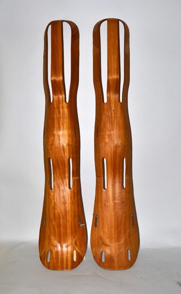 241: Charles Eames Bentwood Leg Splints