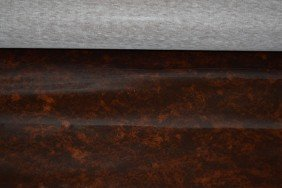 Bolt Of Faux Burled Walnut Textile