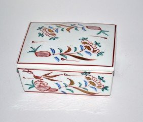 Tiffany & Co. Porcelain Box