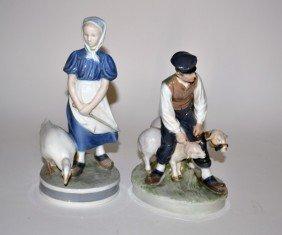 Royal Copenhagen Figural Group