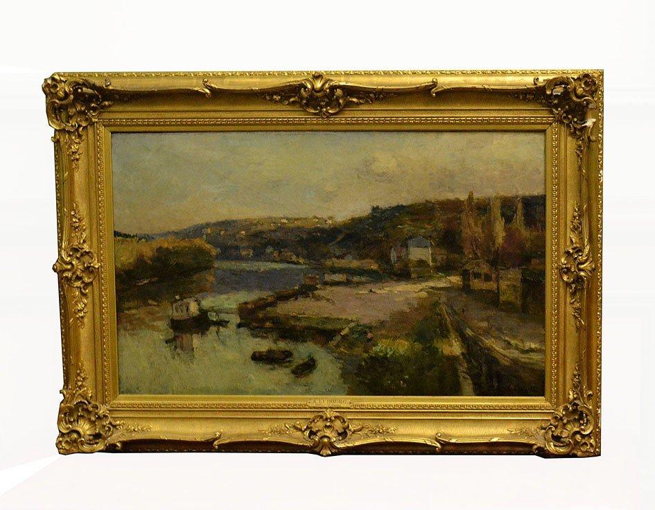 430: Albert Lebourg, (1849-1928) Oil on Canvas