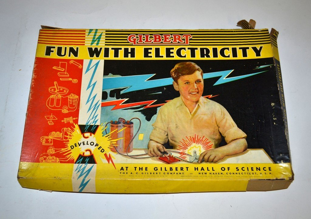 """17: Vintage """"Fun with Electricity"""" Set"""