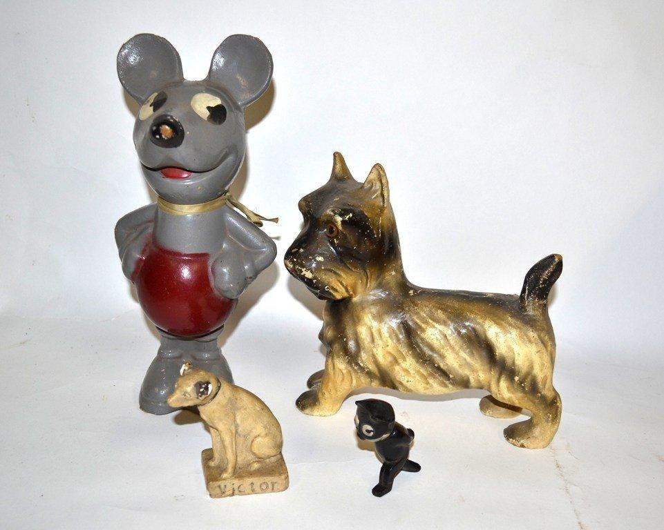 24: 1920s & 30s Animal Mascots & Figures