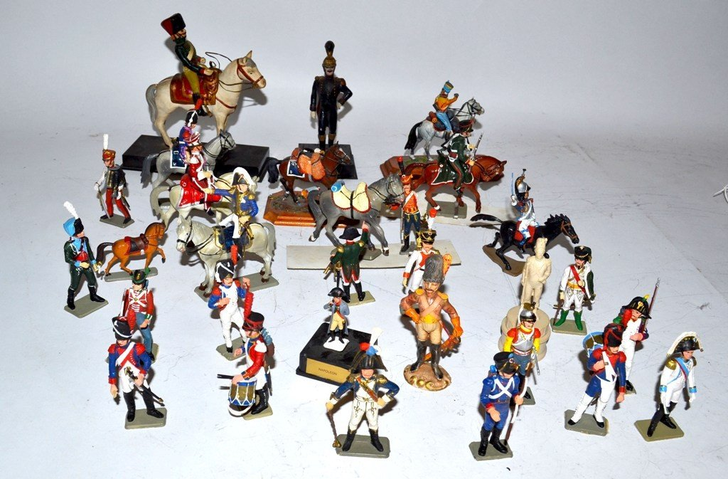 5: Group of Vintage Plastic Napoleonic War Figures (25+