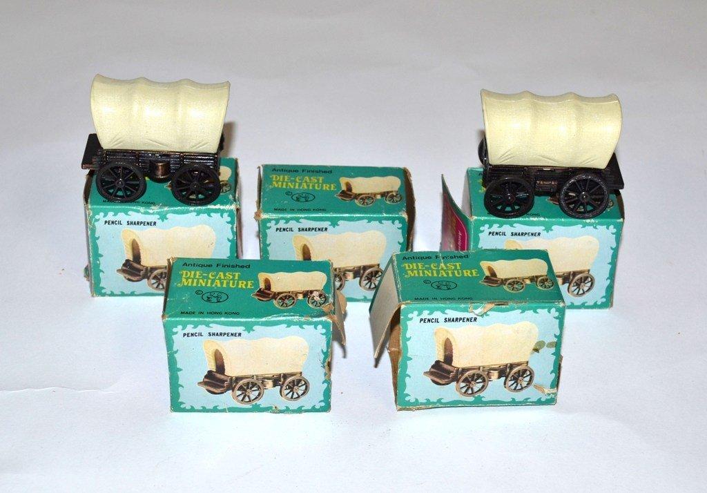 7: Vintage 1960's Conestoga Wagon Pencil Sharpeners