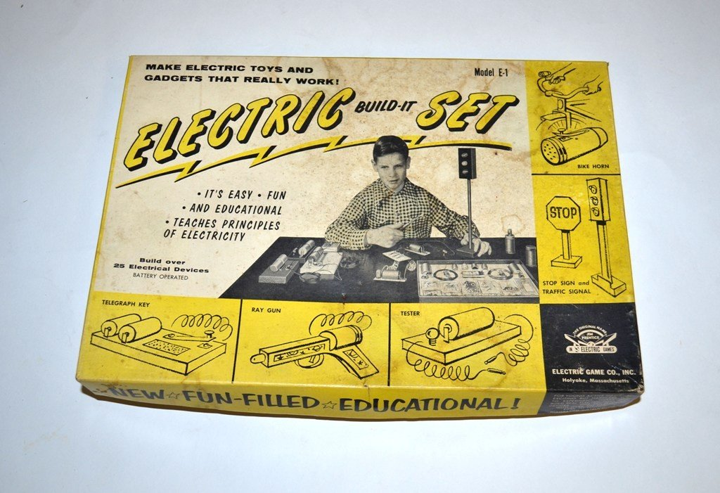 """14: Vintage """"Electric Build-It Set"""" Model E-1"""