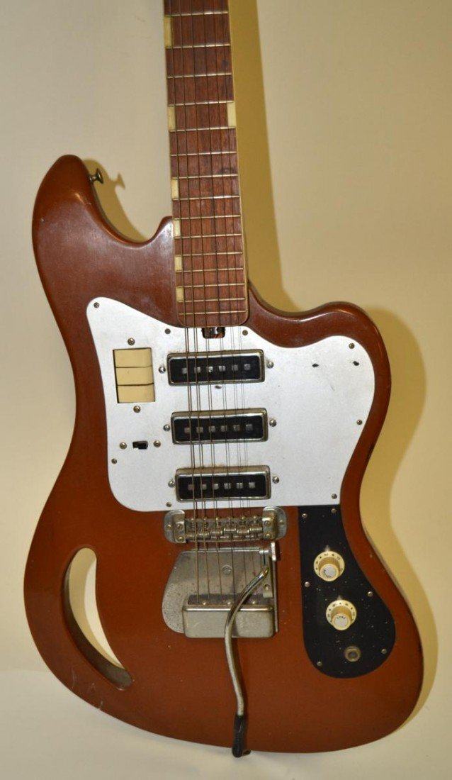 111: Teisco Del Rey ET-320 Electric Guitar - 3